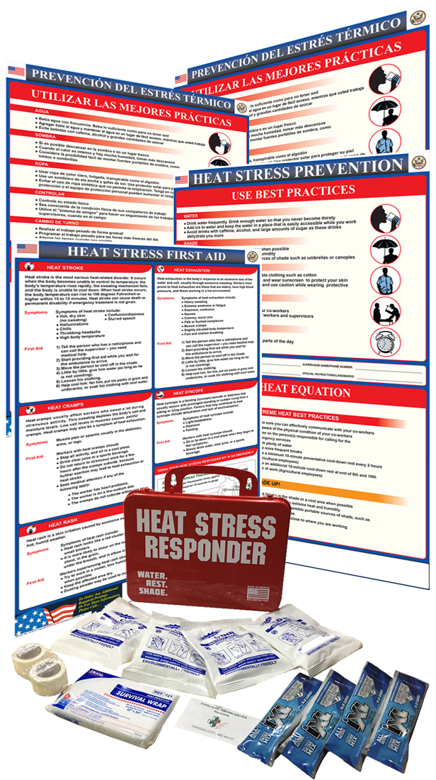 Jobsite Heat Stress Kit
